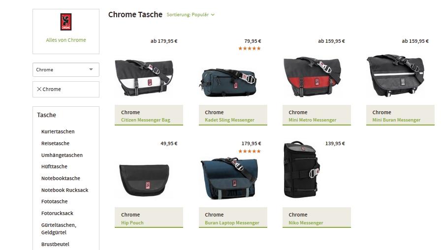 Chrome Kuriertaschen