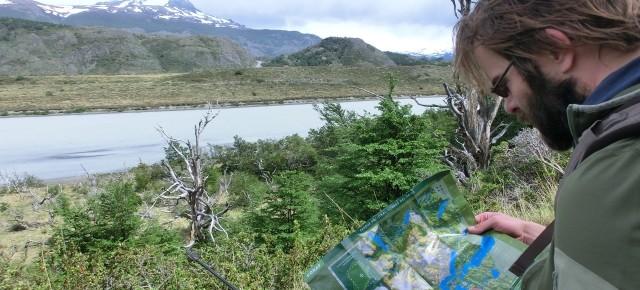 Daniel von Unterwegs in Patagonien