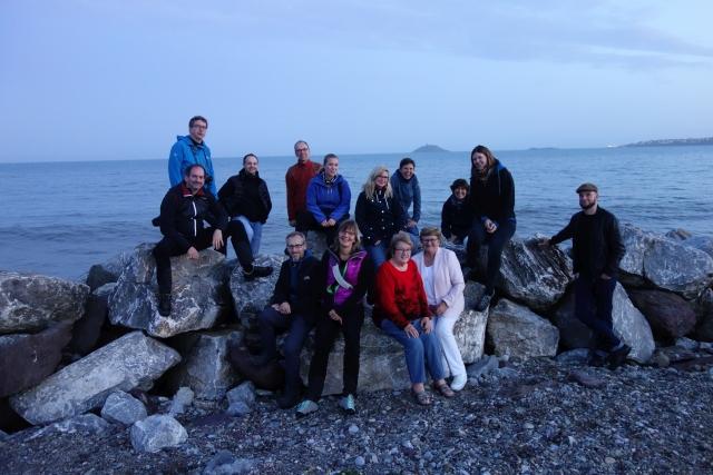 Unterwegs Gruppenfoto in Irland