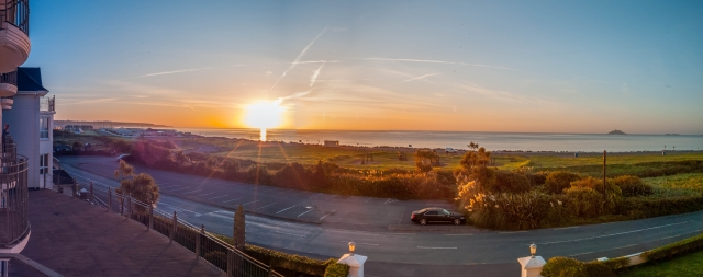 Sonnenaufgang in Irland