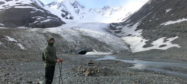 Daniel in Patagonien