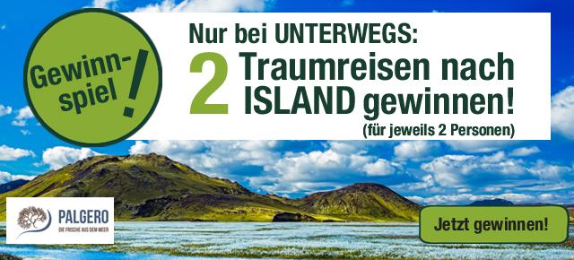 Traumreise nach island gewinnen