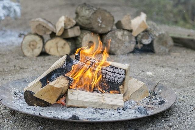 Das Lagerfeuer wieder löschen