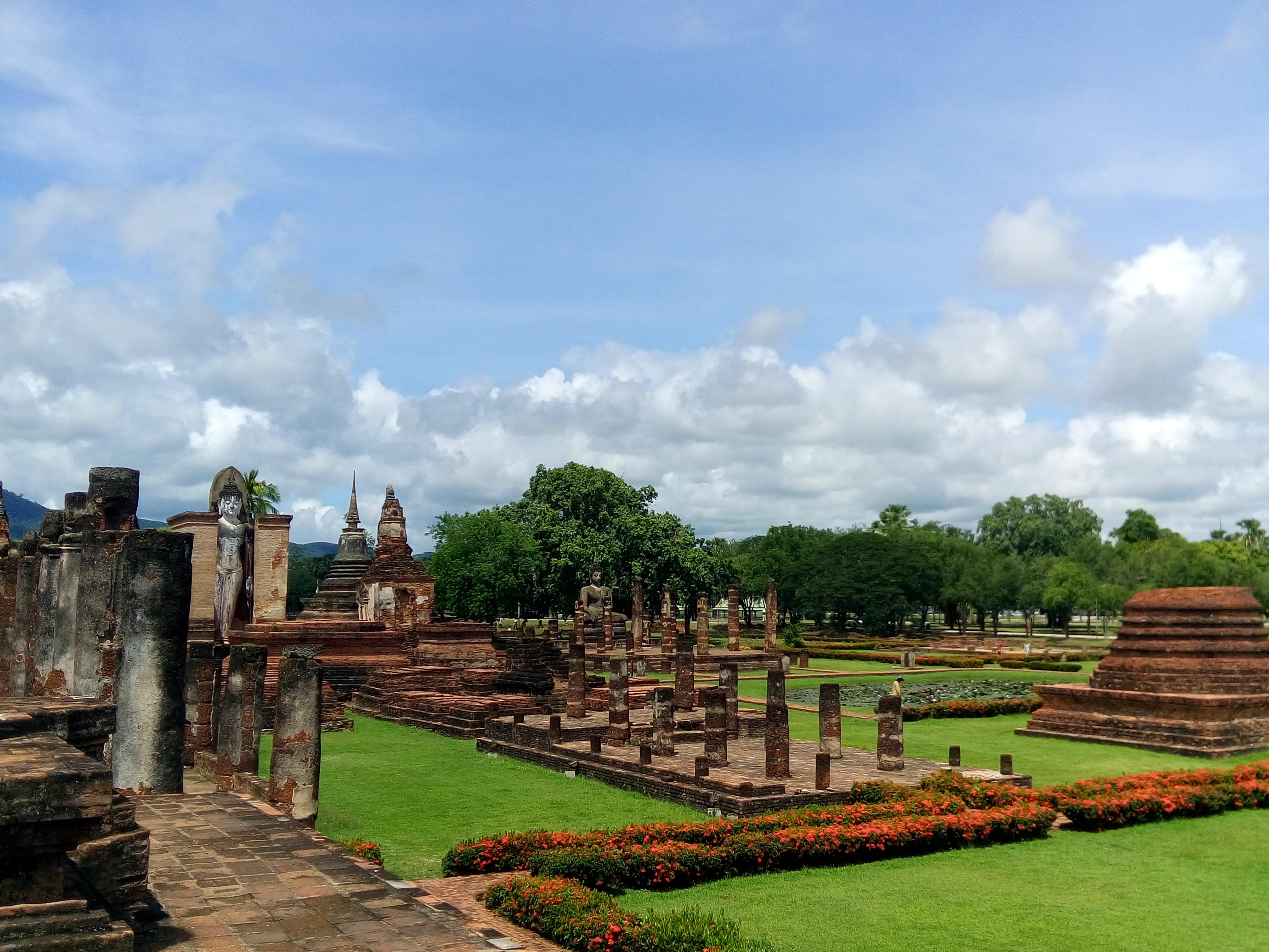 Thailand und seine historische Ruinenstadt Sukhothai