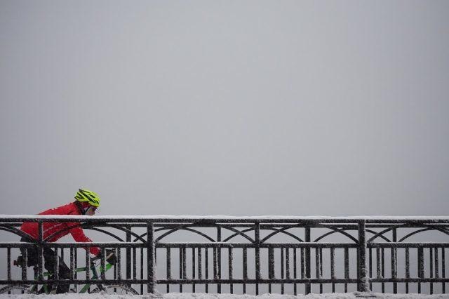 Richtige Bekleidung für das Fahrradfahren im Winter