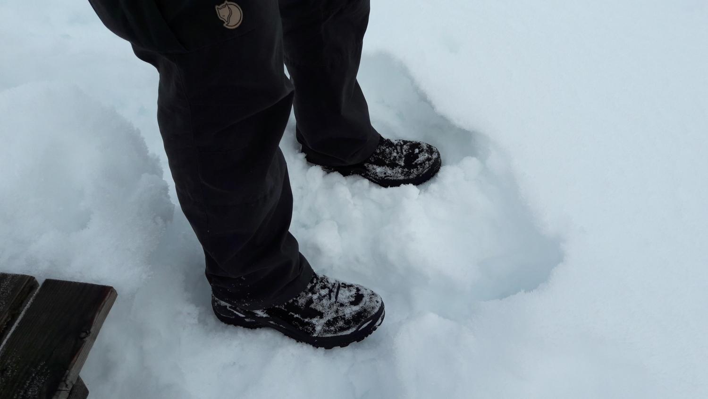 Lowa Renegade im Schnee