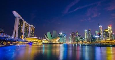 Singapur Aussicht