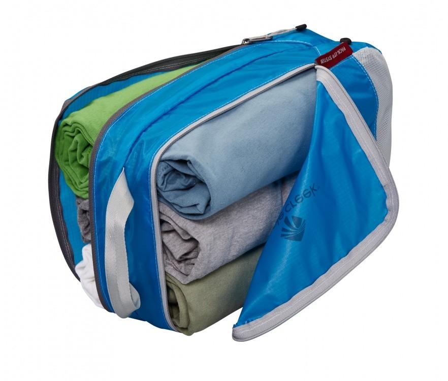 Packsystem für Schmutzwäsche und saubere Wäsche