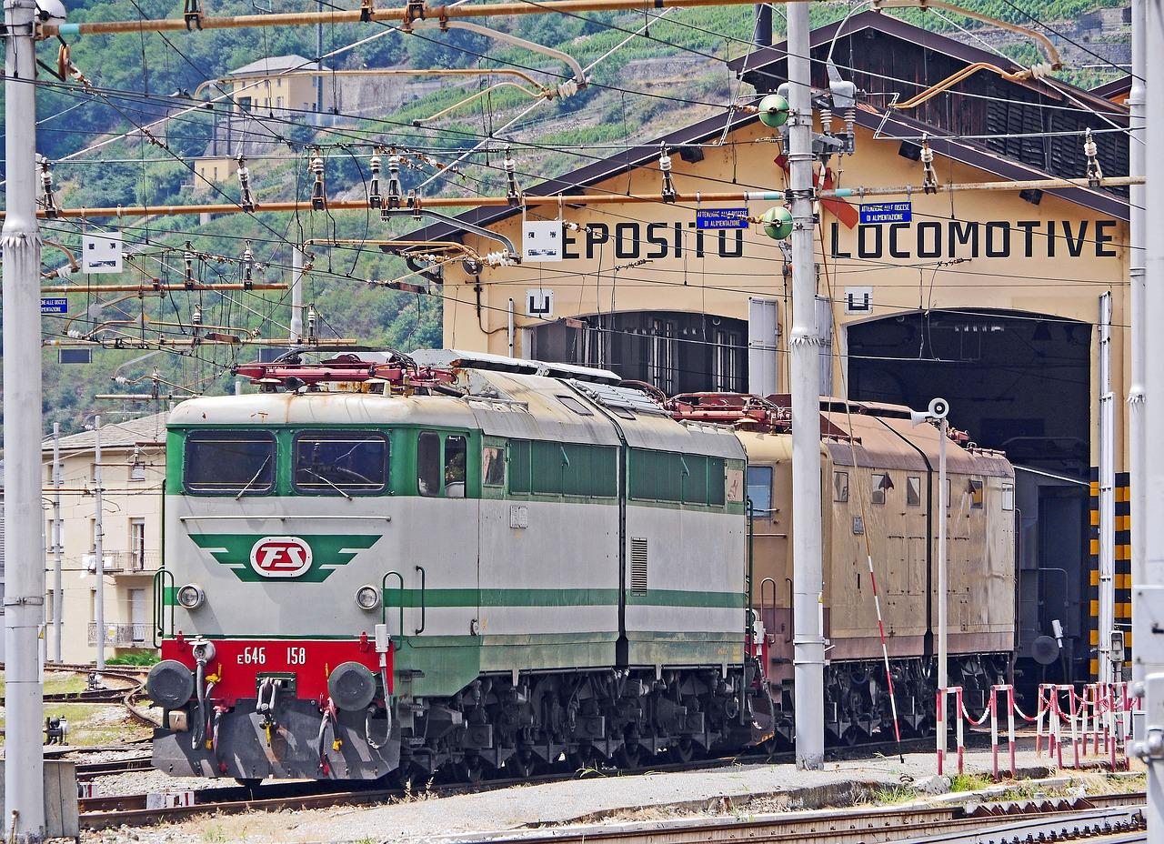 Zug Italien