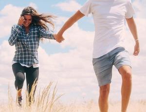 Wanderndes Paar