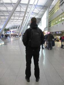 Pacsafe-am-Flughafen