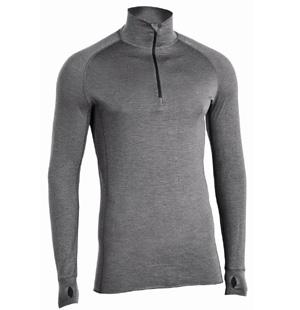 Men 1.5 All Season LS Zip Shirt