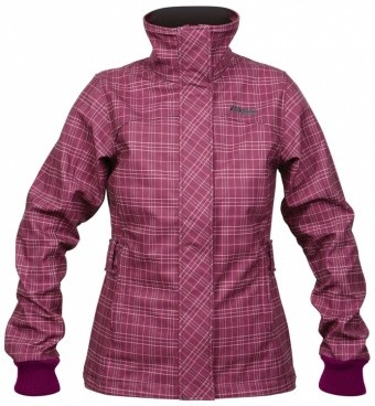 Bergans Mandal Lady Jacket Bergans Mandal Lady Jacket Farbe / color: dark rose/light pink checked ()