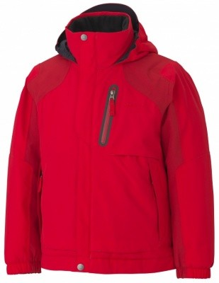 Marmot Boys Morzine Insulated Jacket Marmot Boys Morzine Insulated Jacket Farbe / color: cardinal/fire ()