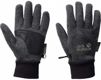 Jack Wolfskin Knitted Stormlock Glove Jack Wolfskin Knitted Stormlock Glove Farbe / color: phantom ()