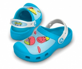 Crocs Kids Custom Clog Crocs Kids Custom Clog Farbe / color: sponge bob blue/white 49C ()