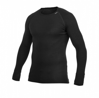 Woolpower Crewneck Lite Woolpower Crewneck Lite Farbe / color: black uni ()