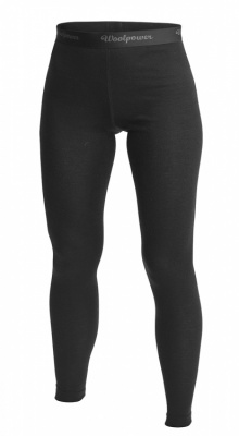 Woolpower Long Johns Womens Lite Woolpower Long Johns Womens Lite Farbe / color: black uni ()