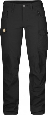 Fjällräven Nikka Trousers Women Fjällräven Nikka Trousers Women Farbe / color: black ()