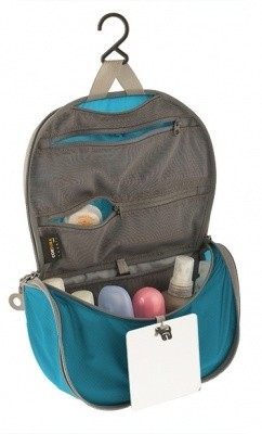 Sea to Summit Hanging Toiletry Bag Small mit Spiegel Sea to Summit Hanging Toiletry Bag Small mit Spiegel Farbe / color: blue/grey ()