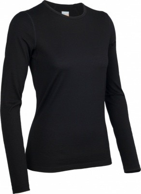 Icebreaker Oasis Long Sleeve Crewe Women Icebreaker Oasis Long Sleeve Crewe Women Farbe / color: black ()