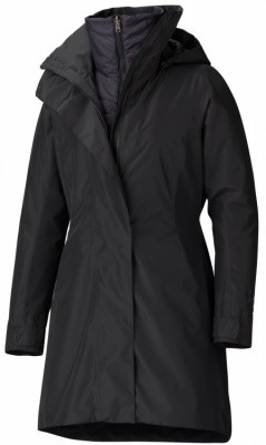 Marmot Womens Downtown Component Jacket Marmot Womens Downtown Component Jacket Farbe / color: black ()