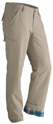 Marmot Womens Piper Flannel Pant Marmot Womens Piper Flannel Pant Farbe / color: sandstorm ()