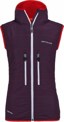 Ortovox Swisswool Light Tec Lavarella Vest Women Ortovox Swisswool Light Tec Lavarella Vest Women Farbe / color: aubergine ()