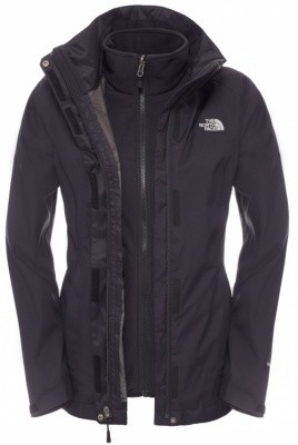 The North Face Womens Evolve II Triclimate Jacket The North Face Womens Evolve II Triclimate Jacket Farbe / color: TNF black/TNF black KX7 ()