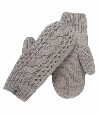 The North Face Womens Cable Knit Mitt The North Face Womens Cable Knit Mitt Farbe / color: metallic silver 85V ()