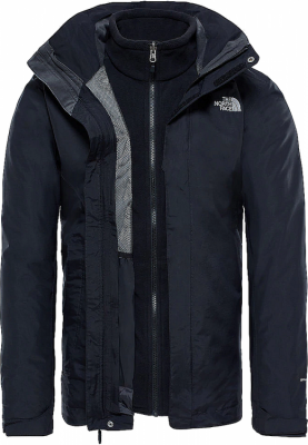 The North Face Mens Evolve II Triclimate Jacket The North Face Mens Evolve II Triclimate Jacket Farbe / color: tnf black JK3 ()