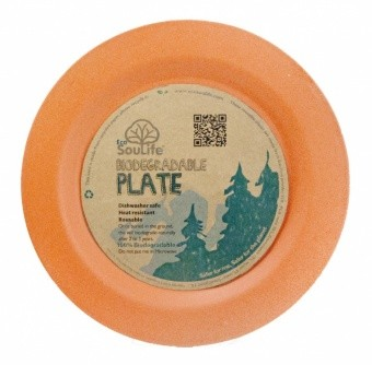 EcoSouLife Dinner Plate EcoSouLife Dinner Plate Farbe / color: orange ()