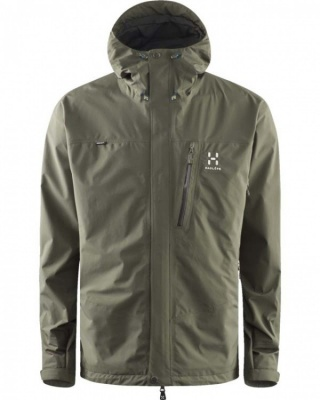 Haglöfs Astral III Jacket Haglöfs Astral III Jacket Farbe / color: beluga 3C3 ()