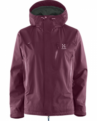 Haglöfs Astral III Jacket Women Haglöfs Astral III Jacket Women Farbe / color: aubergine 32Q ()
