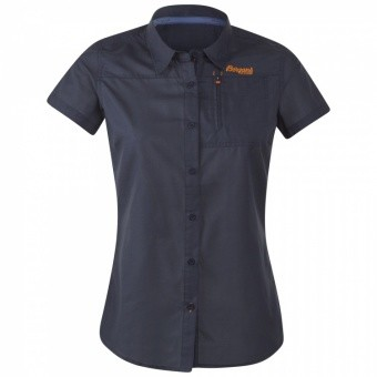 Bergans Sletta Lady Shirt Short Sleeve Bergans Sletta Lady Shirt Short Sleeve Farbe / color: navy ()