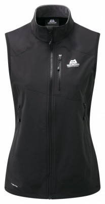 Mountain Equipment Frontier Vest Womens Mountain Equipment Frontier Vest Womens Farbe / color: black ()