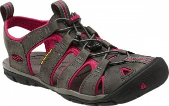 Keen Women Clearwater CNX Leather Keen Women Clearwater CNX Leather Farbe / color: magnet/sangria ()