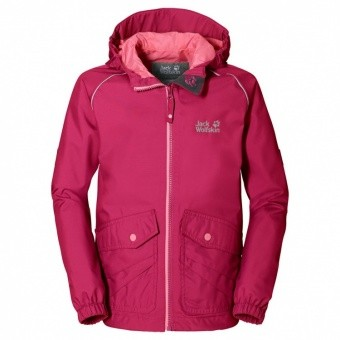 Jack Wolfskin Marron Texapore Jacket Kids Jack Wolfskin Marron Texapore Jacket Kids Farbe / color: azalea red ()