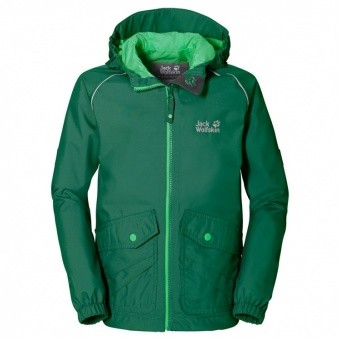 Jack Wolfskin Marron Texapore Jacket Kids Jack Wolfskin Marron Texapore Jacket Kids Farbe / color: cucumber green ()