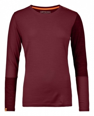 Ortovox Rock n Wool LS Women Ortovox Rock n Wool LS Women Farbe / color: dark blood ()