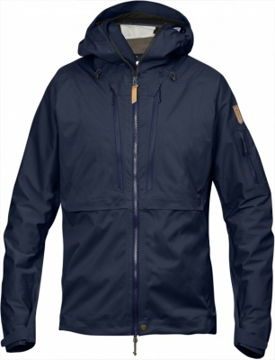Fjällräven Keb Eco-Shell Jacket Fjällräven Keb Eco-Shell Jacket Farbe / color: dark navy ()