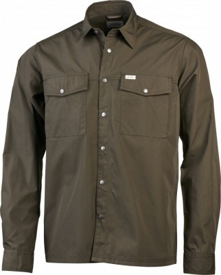 Lundhags Bjur LS Shirt Regular Lundhags Bjur LS Shirt Regular Farbe / color: tea green ()