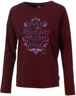 Maloja SabinM Long Sleeve Women Maloja SabinM Long Sleeve Women Farbe / color: cadillac ()