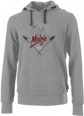 Maloja HaroldM Sweat Hoody Men Maloja HaroldM Sweat Hoody Men Farbe / color: grey melange ()
