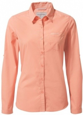 Craghoppers Womens Kiwi Long-Sleeved Shirt Craghoppers Womens Kiwi Long-Sleeved Shirt Farbe / color: rosette ()