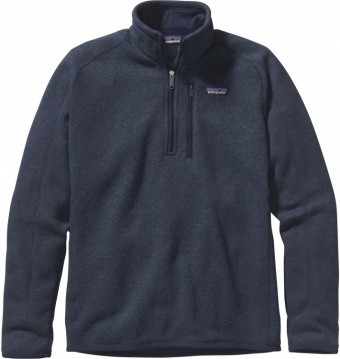 Patagonia Mens Better Sweater 1/4-Zip Patagonia Mens Better Sweater 1/4-Zip Farbe / color: classic navy CNY ()