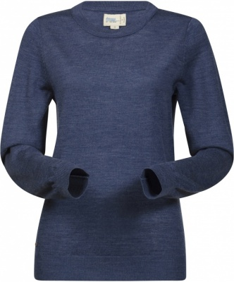 Bergans Fivel Wool Lady Long Sleeve Bergans Fivel Wool Lady Long Sleeve Farbe / color: dusty blue melange ()