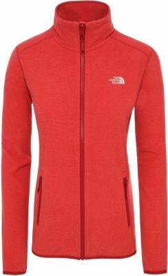The North Face Womens 100 Glacier Full Zip The North Face Womens 100 Glacier Full Zip Farbe / color: cardinal red/juicy red stripe ()
