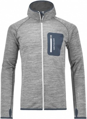 Ortovox Merino Fleece Melange Hoody Ortovox Merino Fleece Melange Hoody Farbe / color: grey blend ()