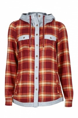 Marmot Womens Reagan Flannel Long Sleeve Marmot Womens Reagan Flannel Long Sleeve Farbe / color: madder red ()
